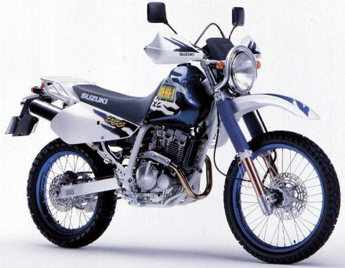 Suzuki Djebel 250 характеристики