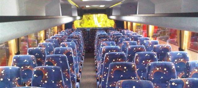 места в автобусе схема
