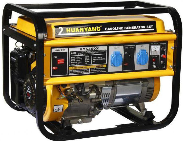 бензиновый генератор 5 квт с автозапуском цена