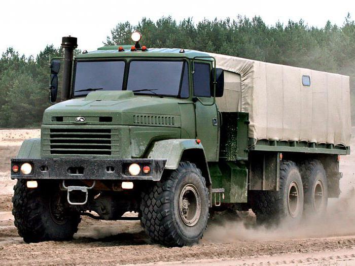 КрАЗ-6322 внедорожник