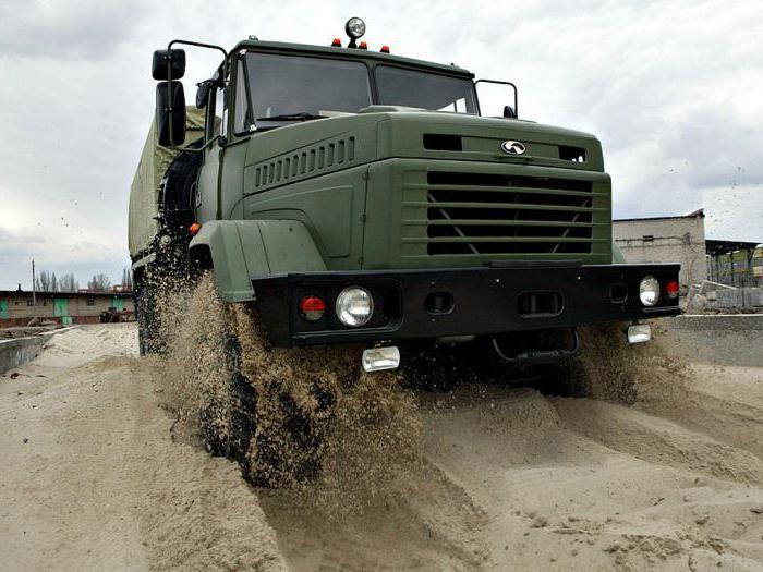 КрАЗ-6322 технические характеристики
