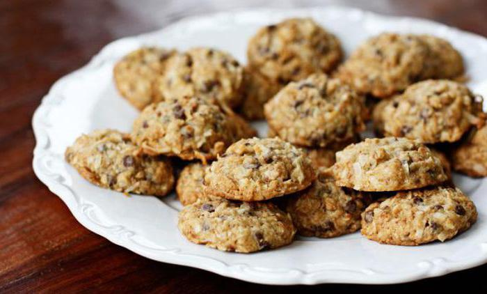 Овсяные печенья в духовке рецепт с фото