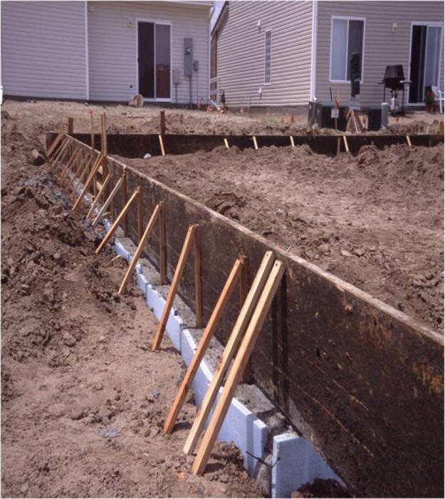 можно ли заливать фундамент частями каким бетоном