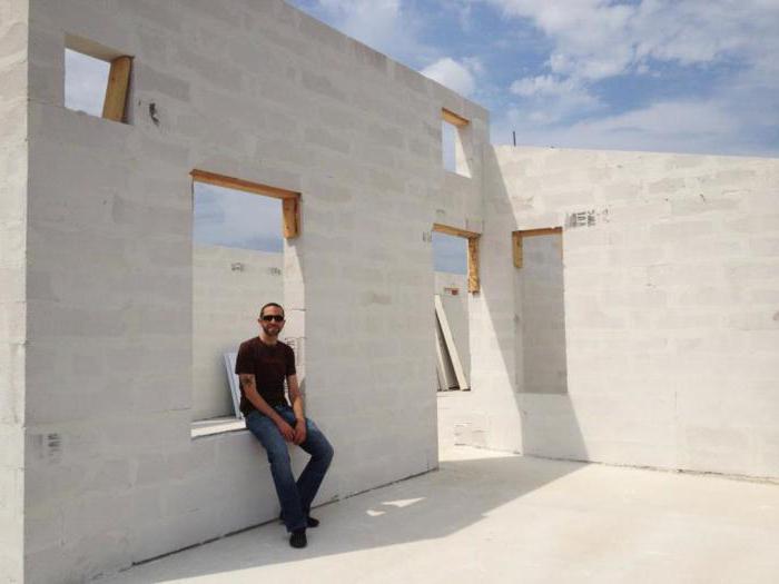 строительство дома из газоблока цена