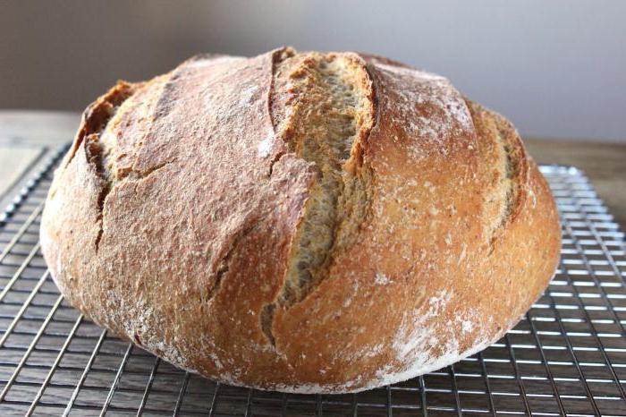 пшенично ржаной хлеб на закваске