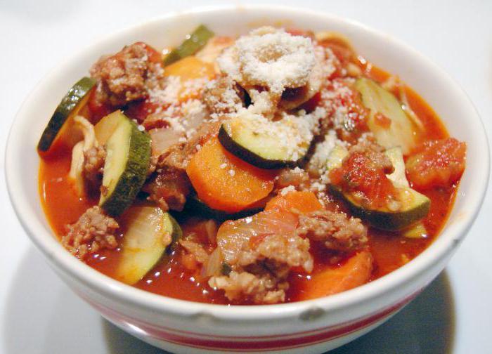 Рецепт вкусного овощного рагу с мясом