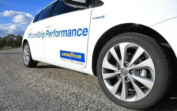 goodyear efficientgrip performance отзывы