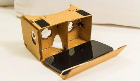 как сделать из бумаги очки виртуальной реальности