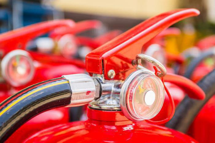 нормы оснащения помещений ручными огнетушителями