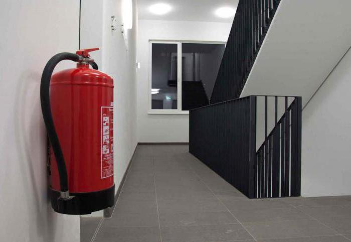 определение необходимого количества огнетушителей
