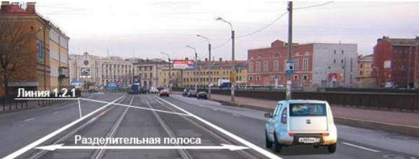ПДД движение по трамвайным путям попутного направления