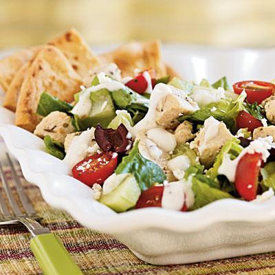 салат греческий калорийность