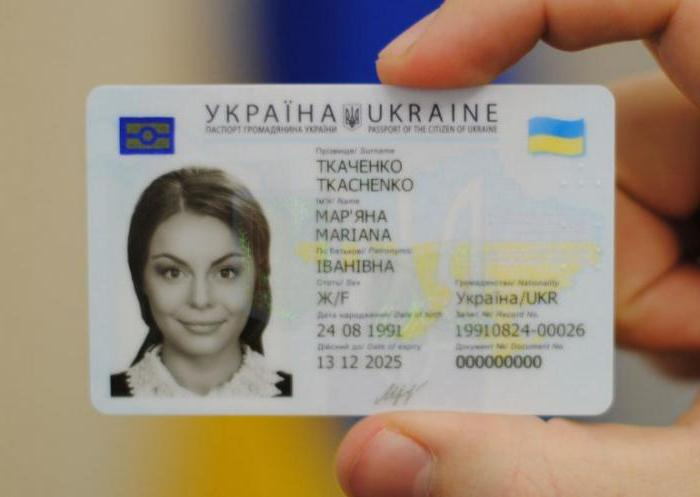 биометрический паспорт украина