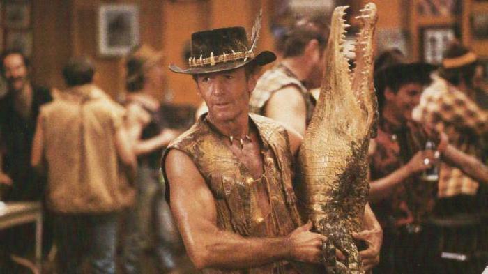 крокодил Данди актер