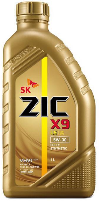 Моторное масло ZIC 5W 30