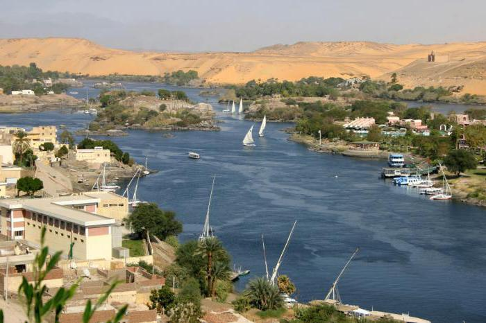 описание реки нил по плану географическое положение