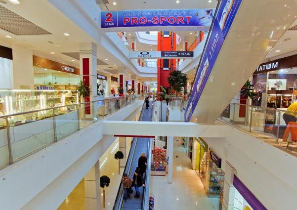 торговые центры красноярск