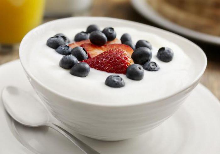 сколько калорий в натуральном йогурте