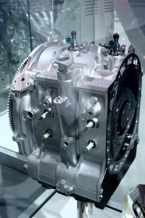 Роторный двигатель мазда rx8 принцип работы