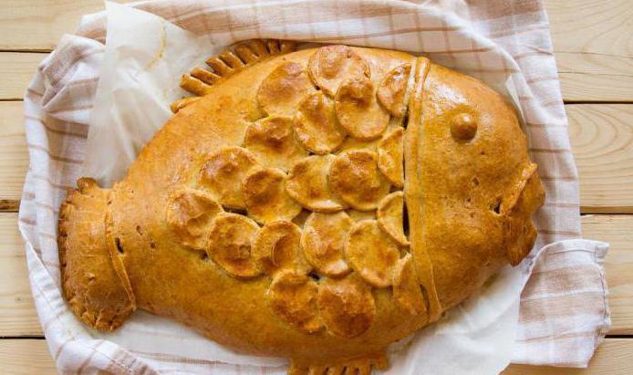 Рыбный пирог рецепт с тесто дрожжевое