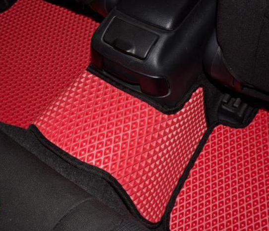 ячеистые коврики eva drive
