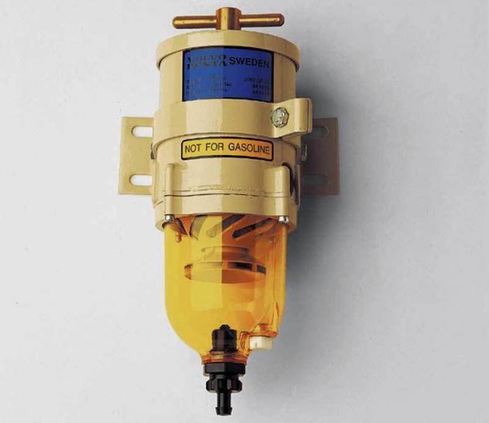Сепаратор топлива для дизелей