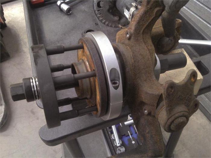 замена ступицы форд фокус