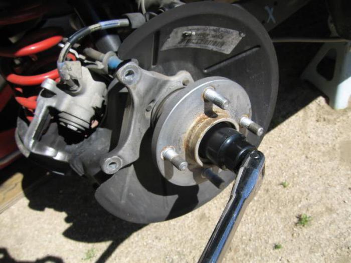 замена задней ступицы форд фокус 2