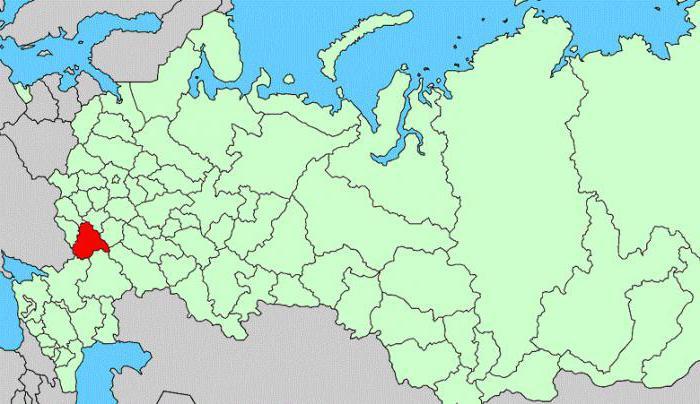площадь Воронежской области