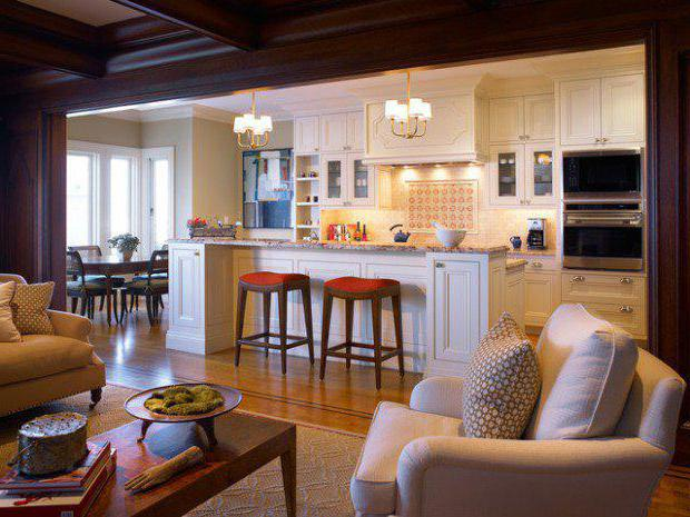 как правильно спланировать кухню в частном доме