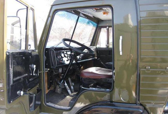 КамАЗ-53213: технические характеристики