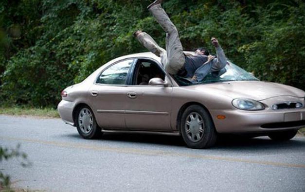 сколько штраф за непропуск пешехода