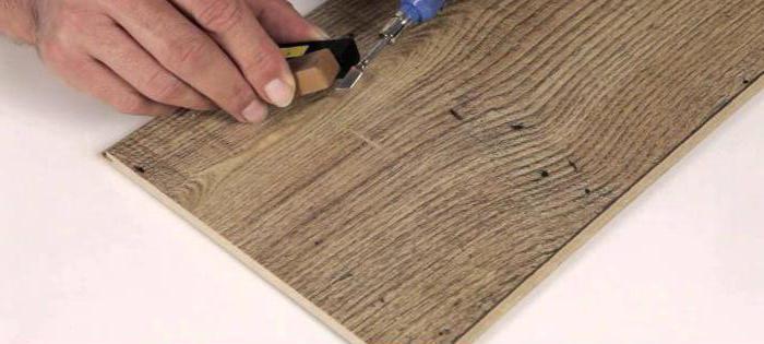 ремонт ламината своими руками без разбора