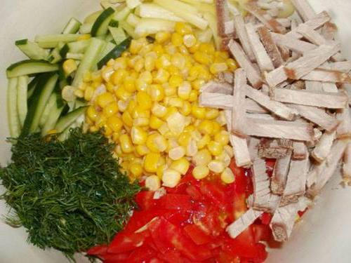 Салат снегурочка рецепт с курицей