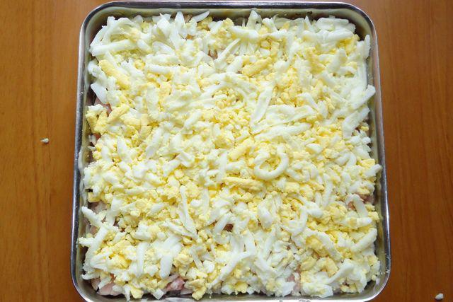 Салат снегурочка рецепт