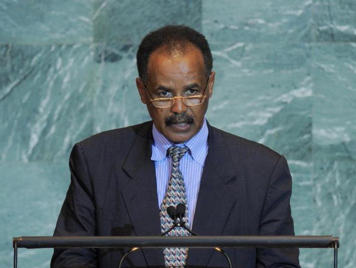 где находится страна эритрея