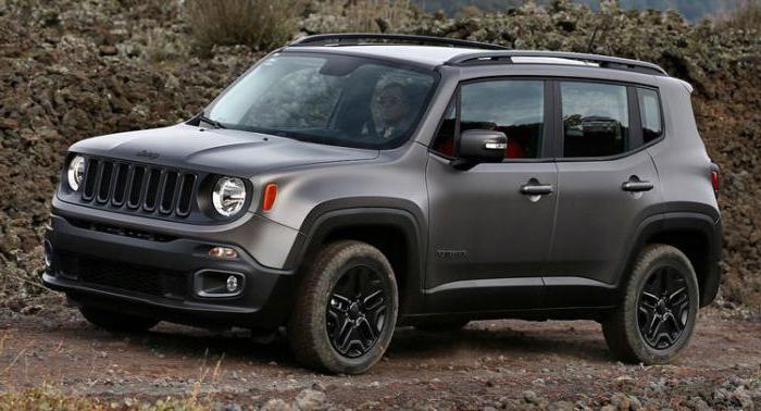 Модельный ряд Jeep