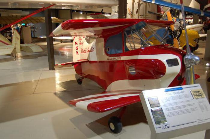 самые маленькие пилотируемые самолеты в мире