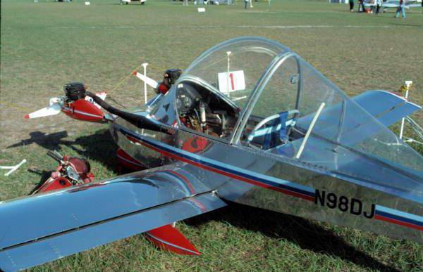 самый маленький пассажирский самолет в мире