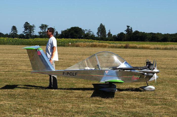самый маленький самолет в мире фото