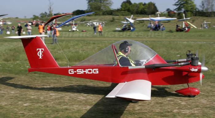 самые маленькие самолеты в мире