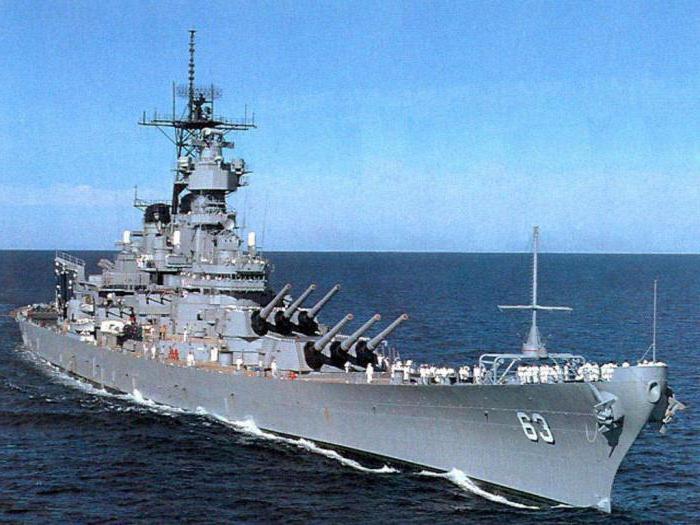 самый большой корабль в мире линкор
