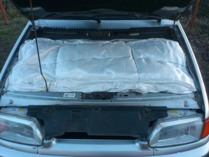 одеяло для двигателя своими рукми
