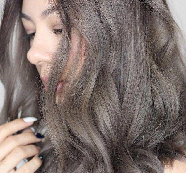 мышиный цвет волос