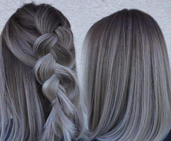 как получить мышиный цвет волос
