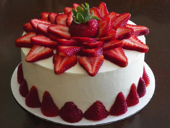 сколько калорий в тортах