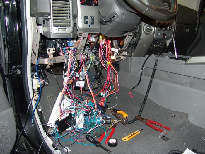 установка сигнализации с обратной связью и автозапуском