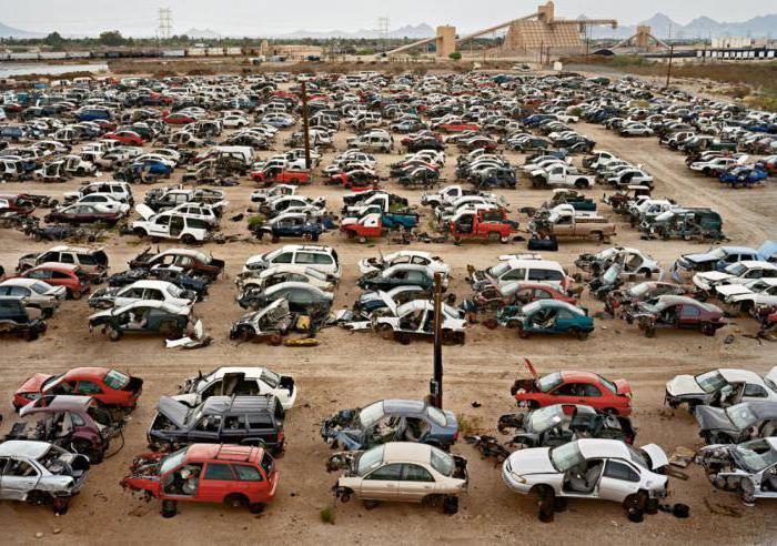 как утилизируют автомобили