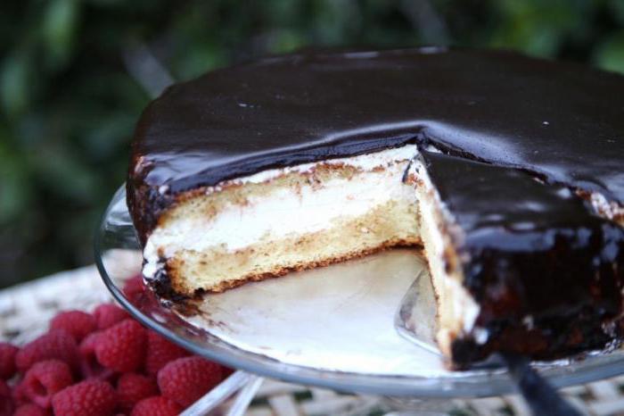 торт без выпечки птичье молоко