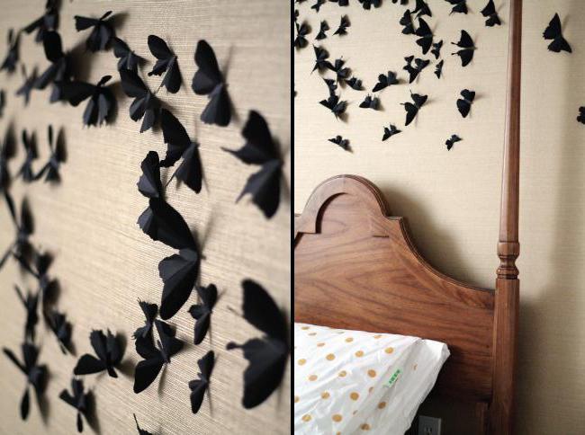 Декоративные украшения бабочки
